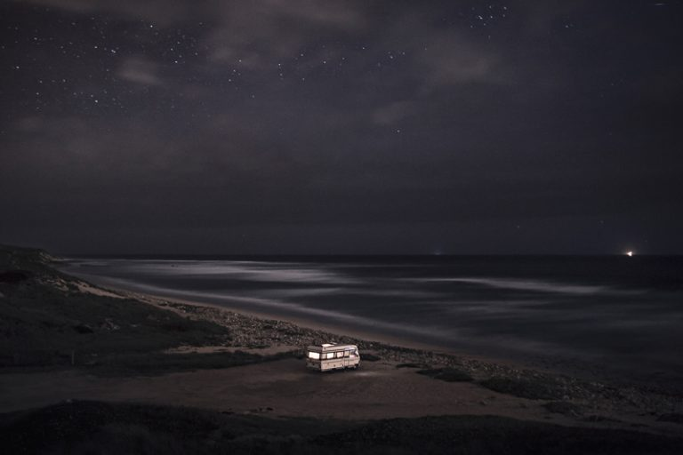 A Van in the Sea / Alessandro Puccinelli