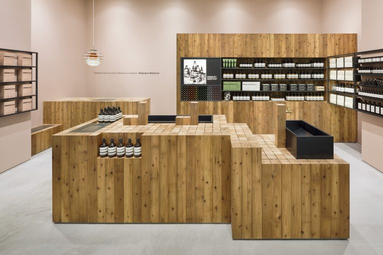 Aesop Osaka / Torafu Architects