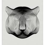 Animals in Moiré / Andrea Minini