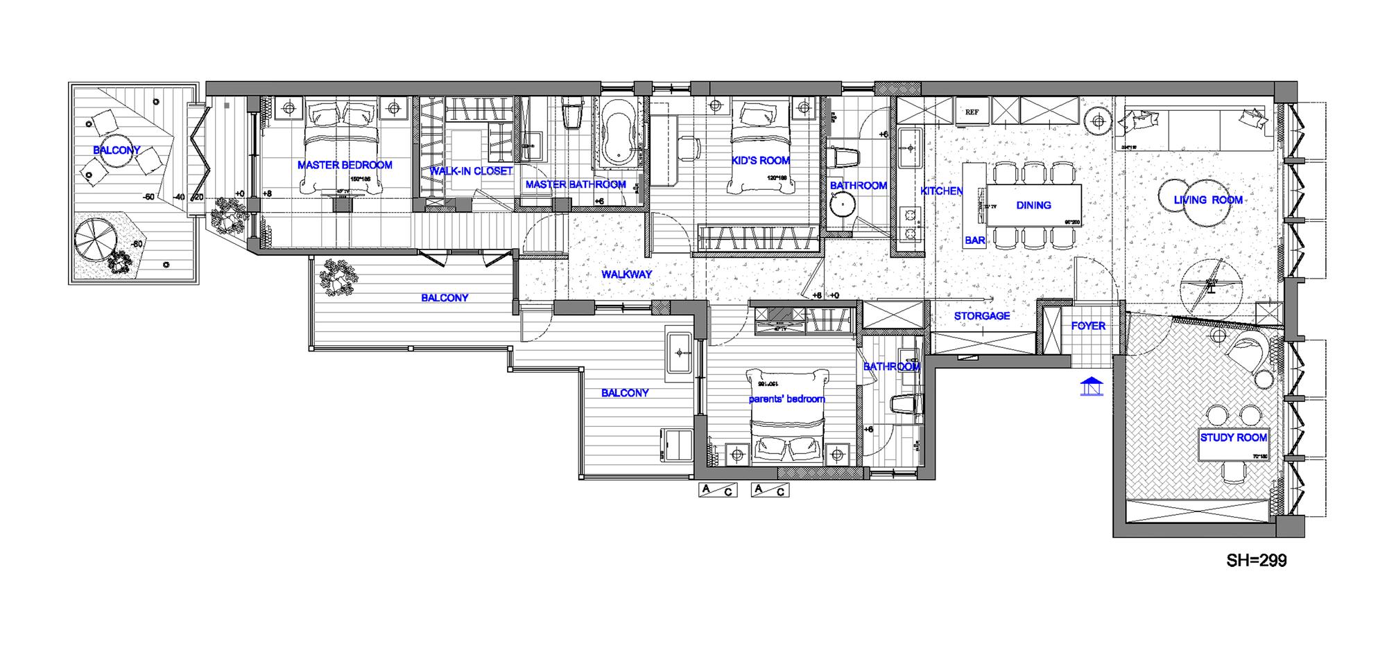 Apartment Refurbishment / CHI-TORCH Interior Design (3)