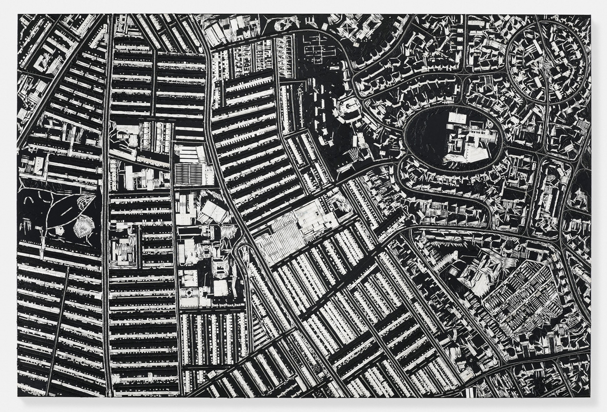 Black Scalpel Cityscapes / Damien Hirst (2)