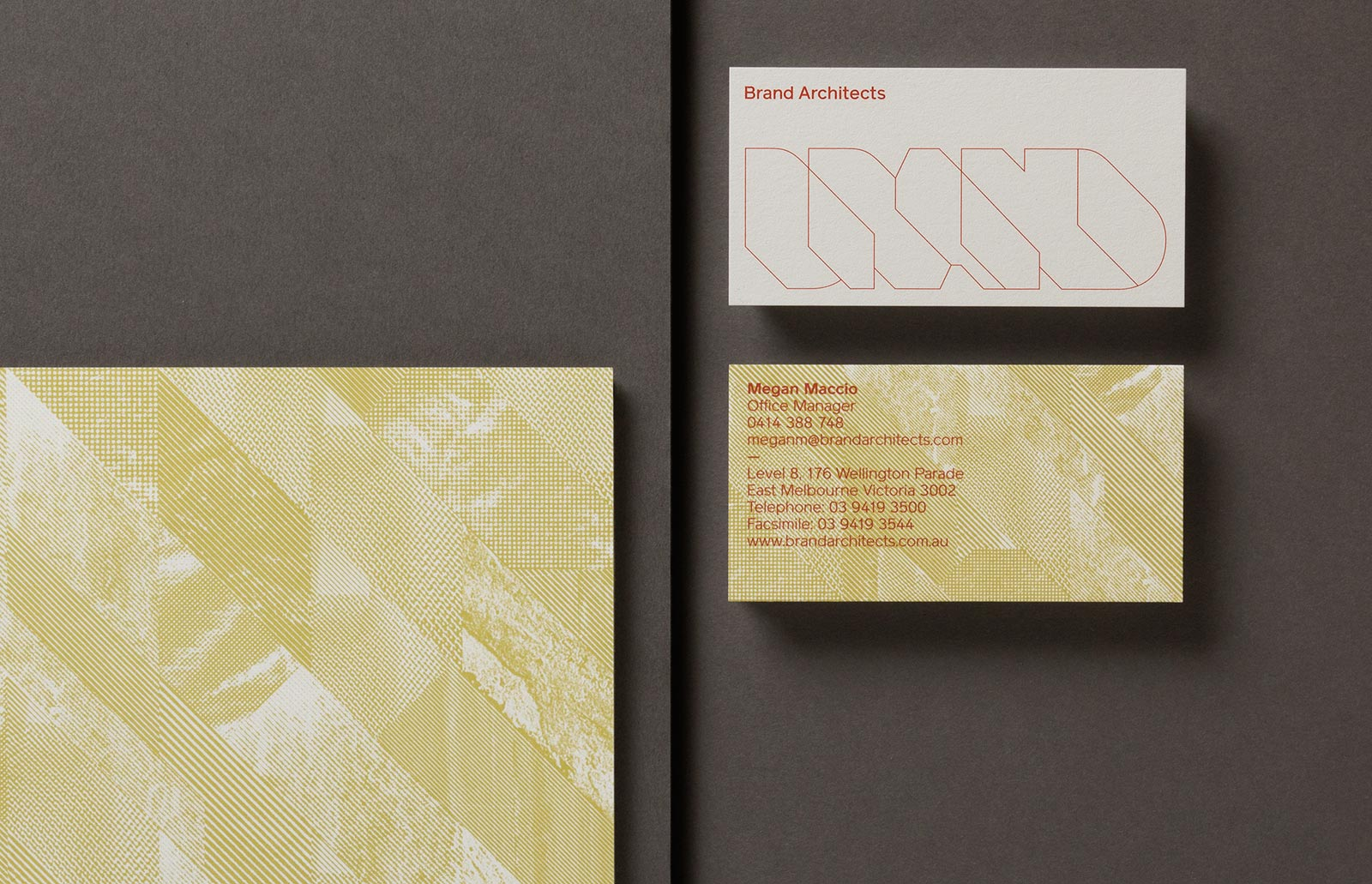 Brand Architects Identity / Hofstede Design