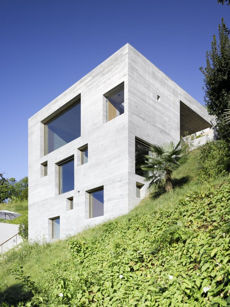 Concrete House / Wespi de Meuron Romeo Architetti