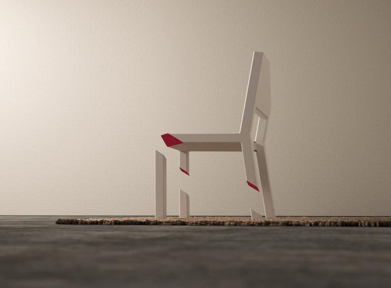 chaise magique design objet