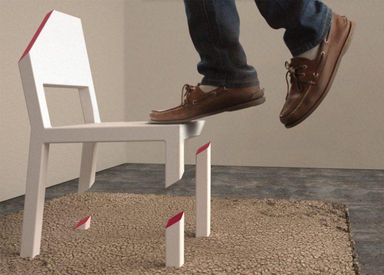 Cut Chair / Peter Bristol