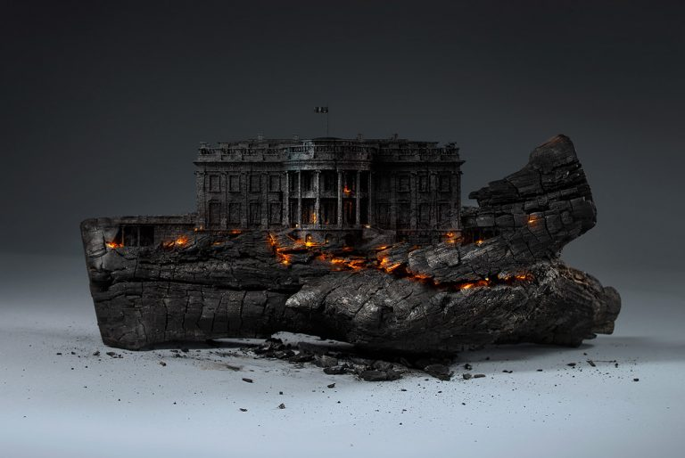 Deconstruction Of America / Mike Campau