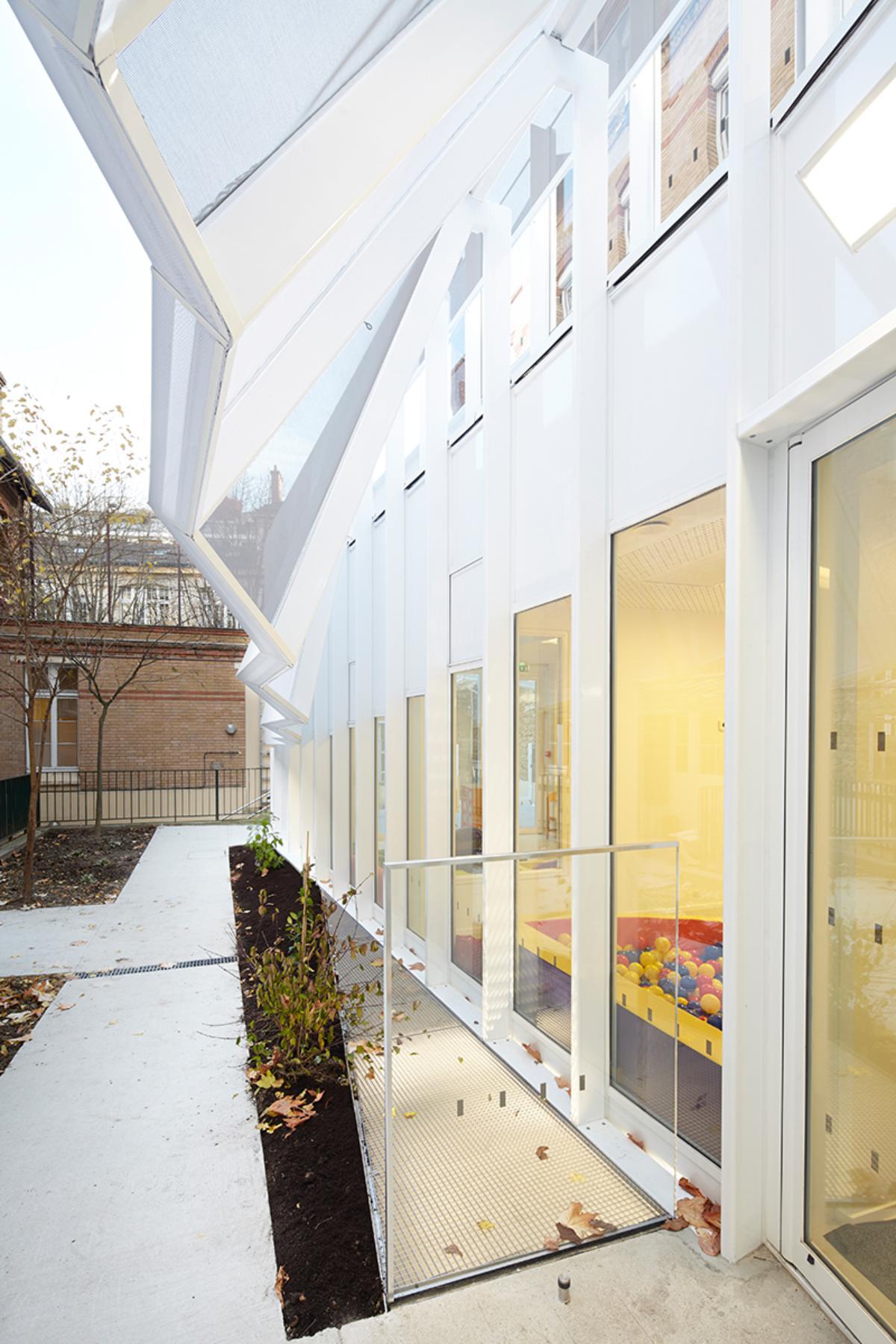 Crêche Epée de Bois / H2O Architectes (12)
