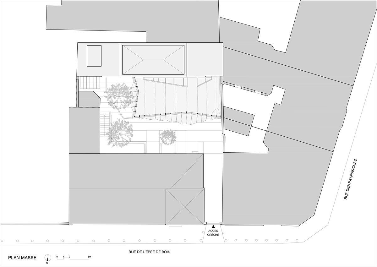 Crêche Epée de Bois / H2O Architectes (9)