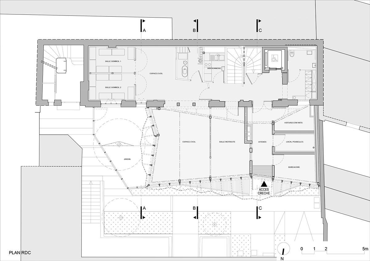 Crêche Epée de Bois / H2O Architectes (5)