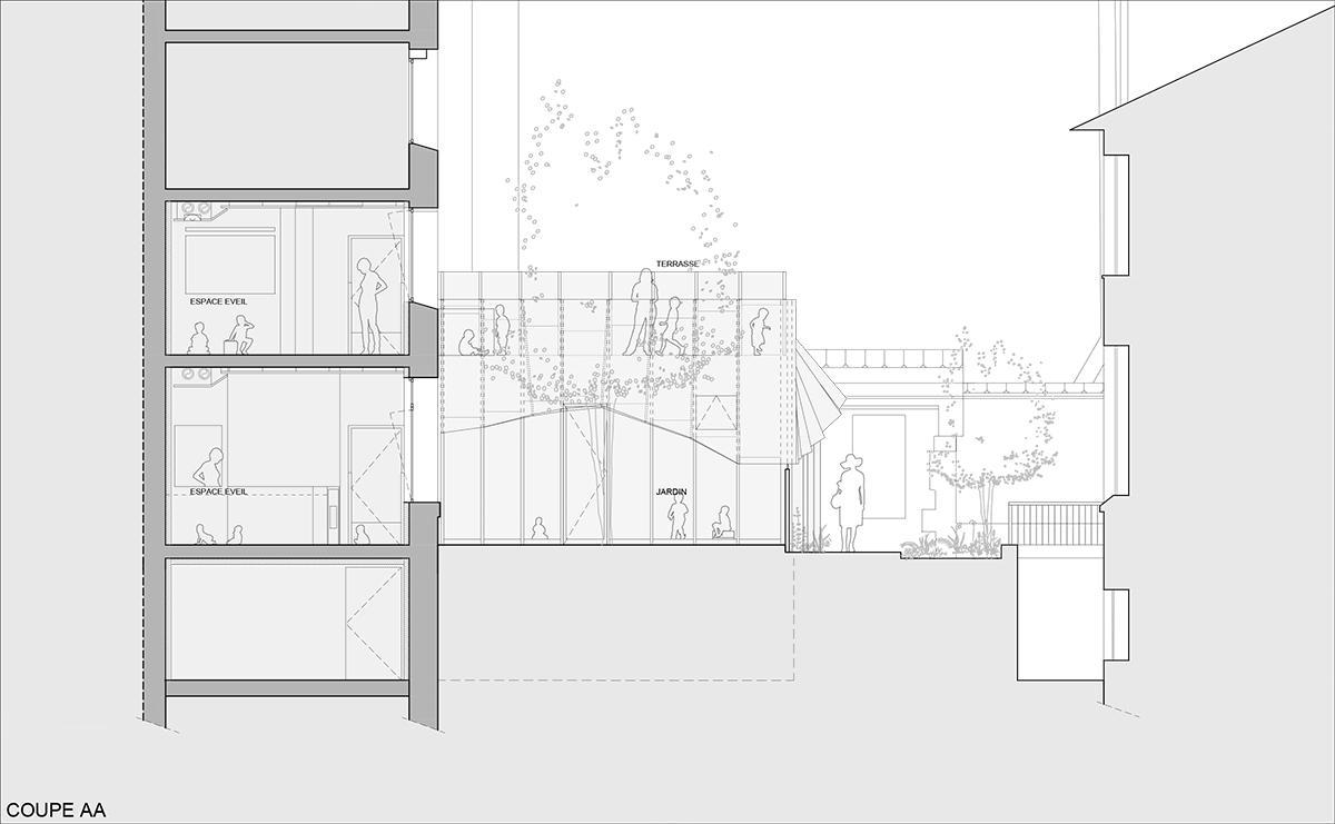 Crêche Epée de Bois / H2O Architectes (3)