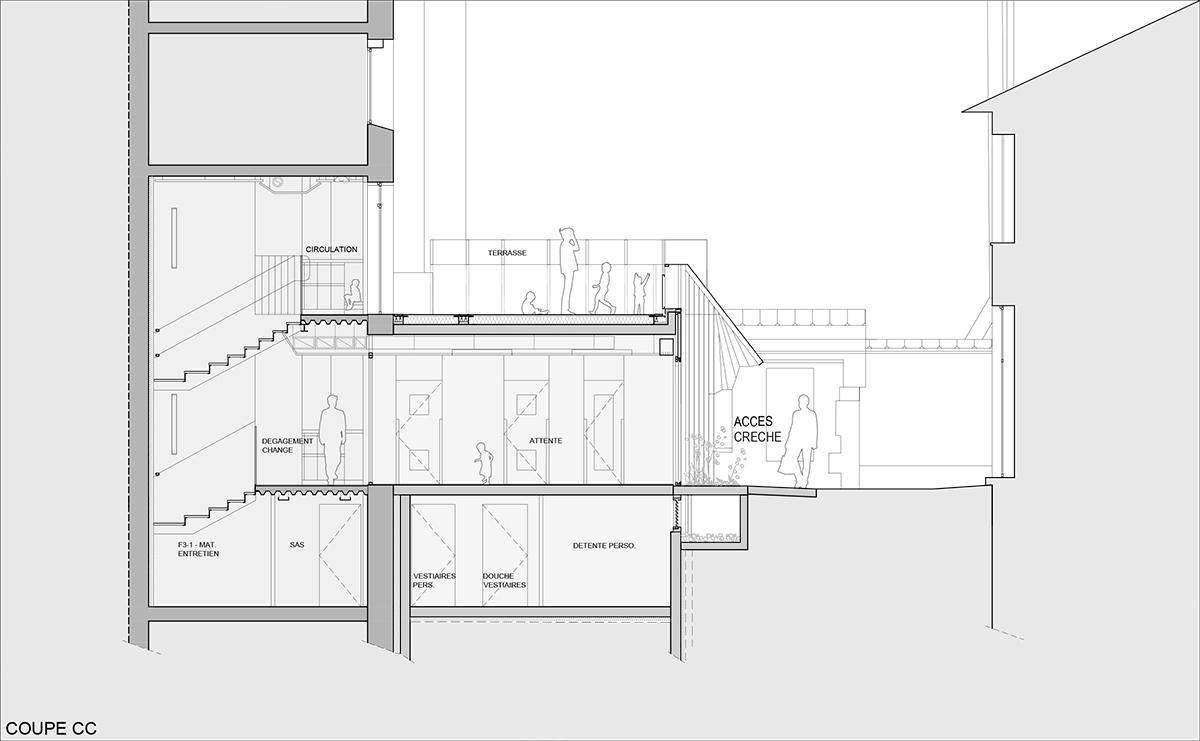 Crêche Epée de Bois / H2O Architectes (2)