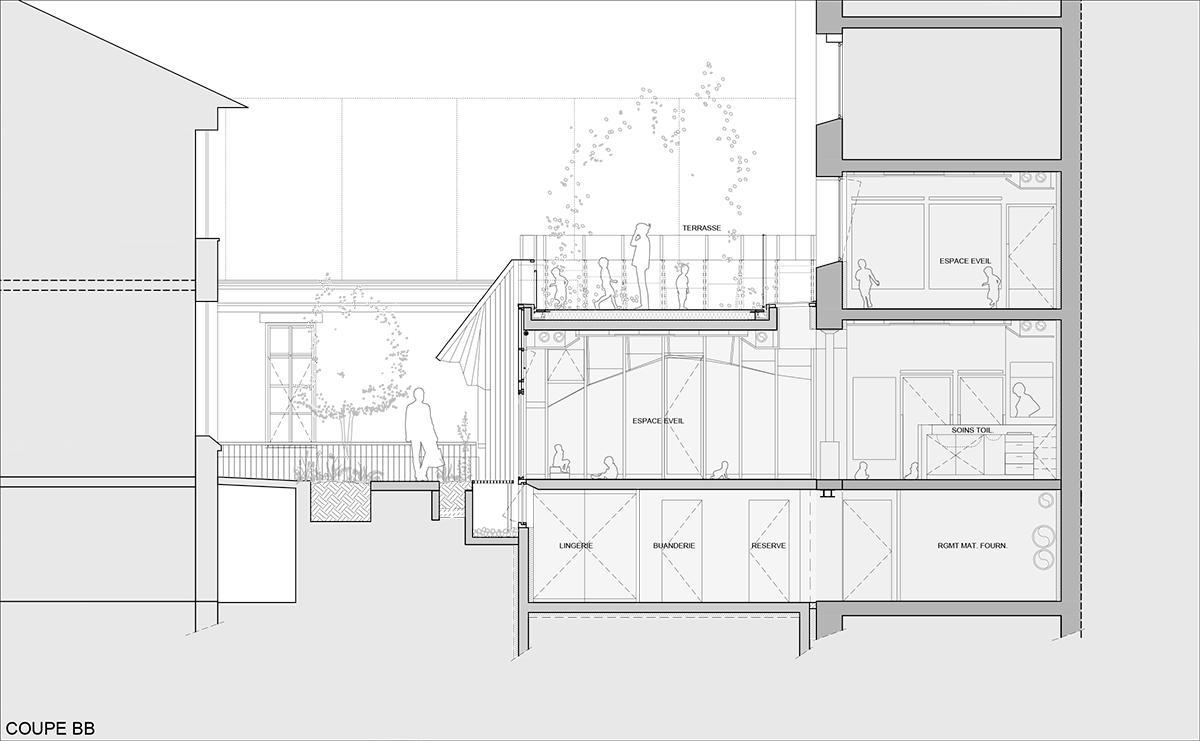 Crêche Epée de Bois / H2O Architectes (1)
