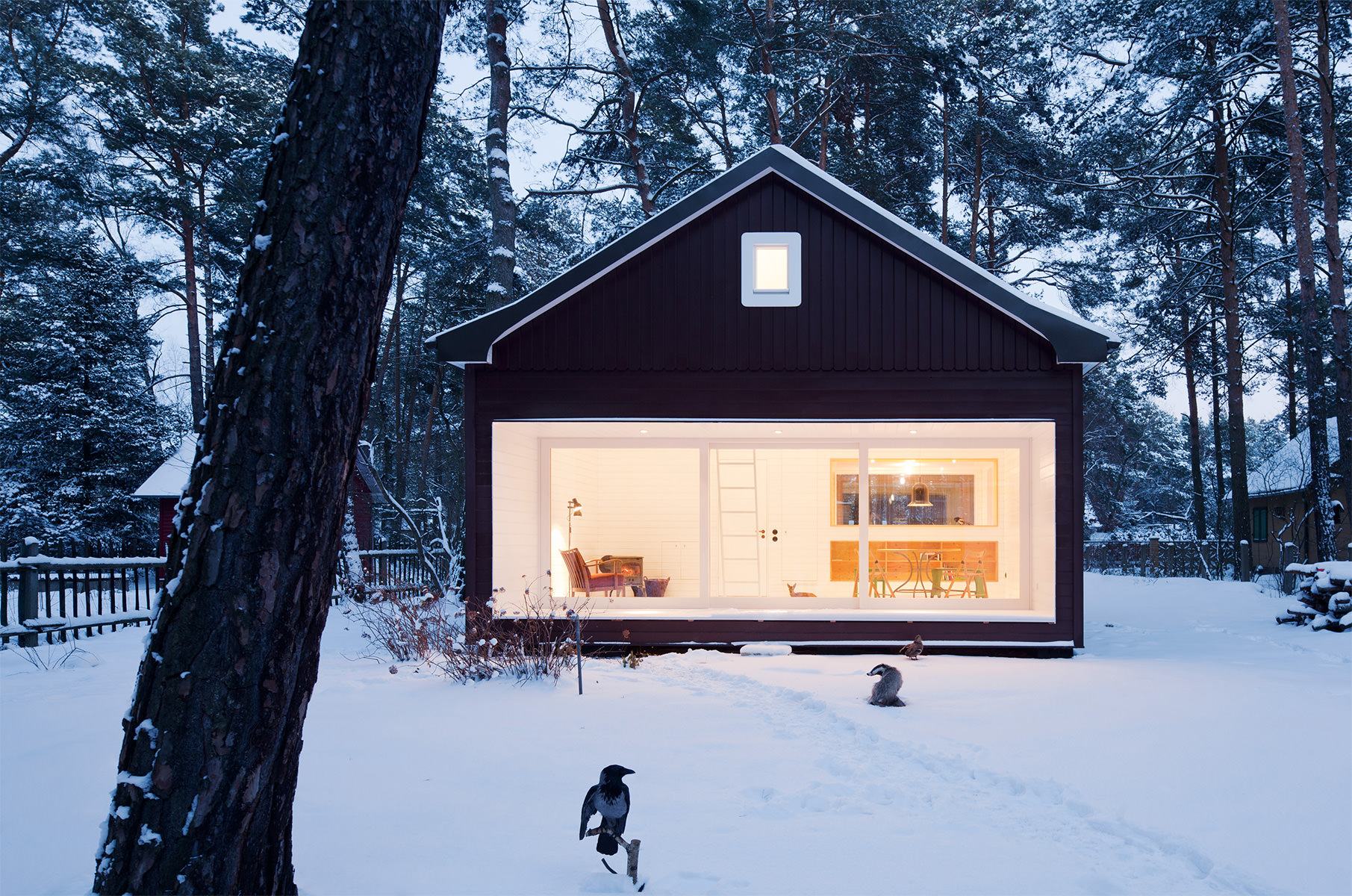 Forest House / Atelier St (5)