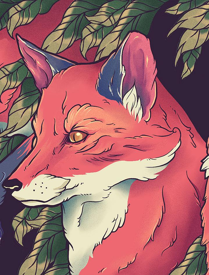 Foxes Bazu Eco Wallet / Gustavo Pergoli (6)