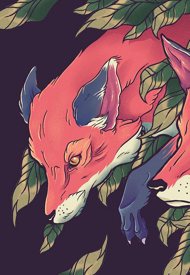 Foxes Bazu Eco Wallet / Gustavo Pergoli (5)