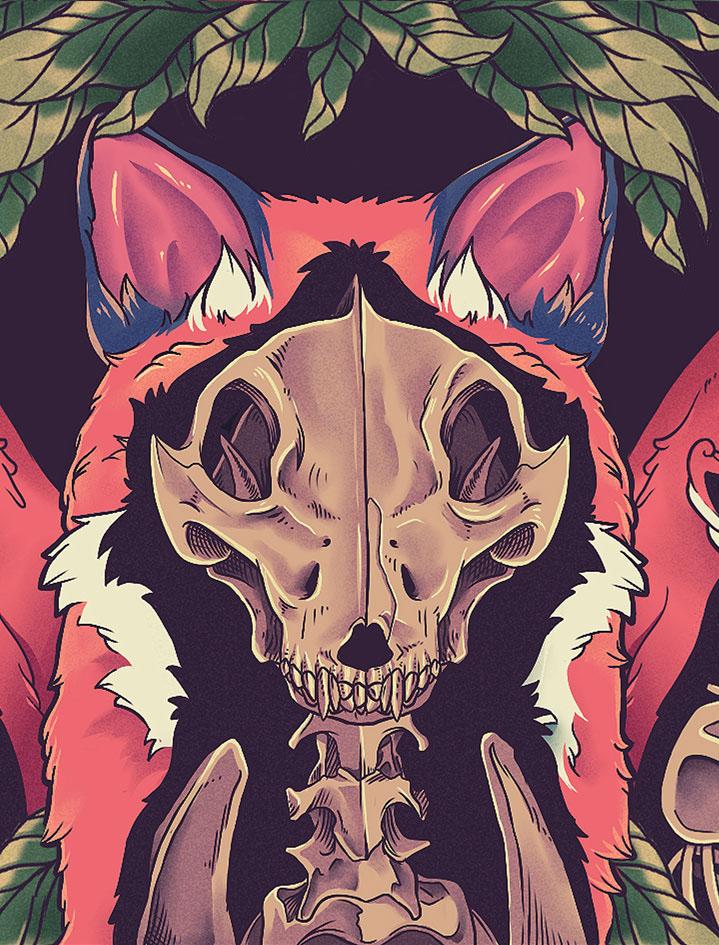 Foxes Bazu Eco Wallet / Gustavo Pergoli (4)