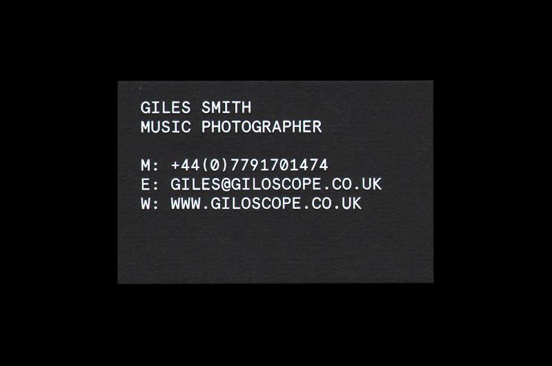 Giles Smith Photography - Catalogue