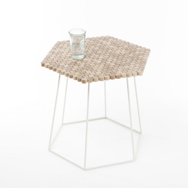 Hexaform Side Table / Catherine Aitken