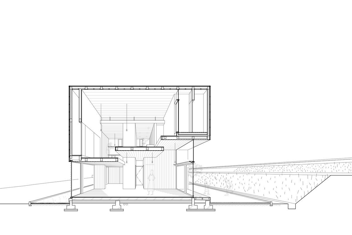 House Passage of Landscape / Ihrmk (2)