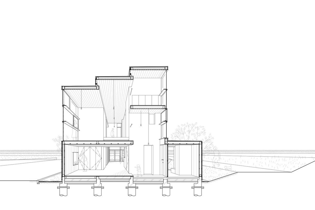 House Passage of Landscape / Ihrmk (1)