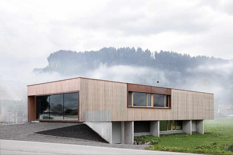 House & Showroom / Ao-Architekten + Markus Innauer