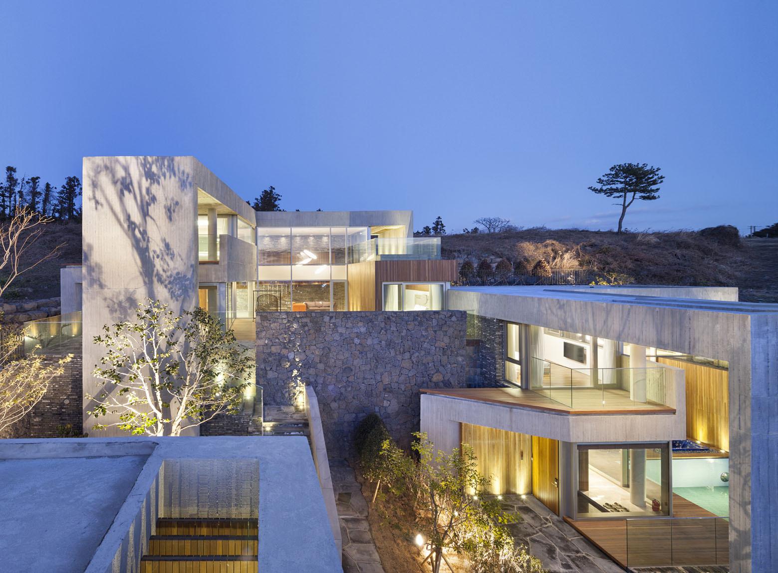 Jeju Bayhill Pool & Villa / Kim Dong-jin + L'eau Design (8)