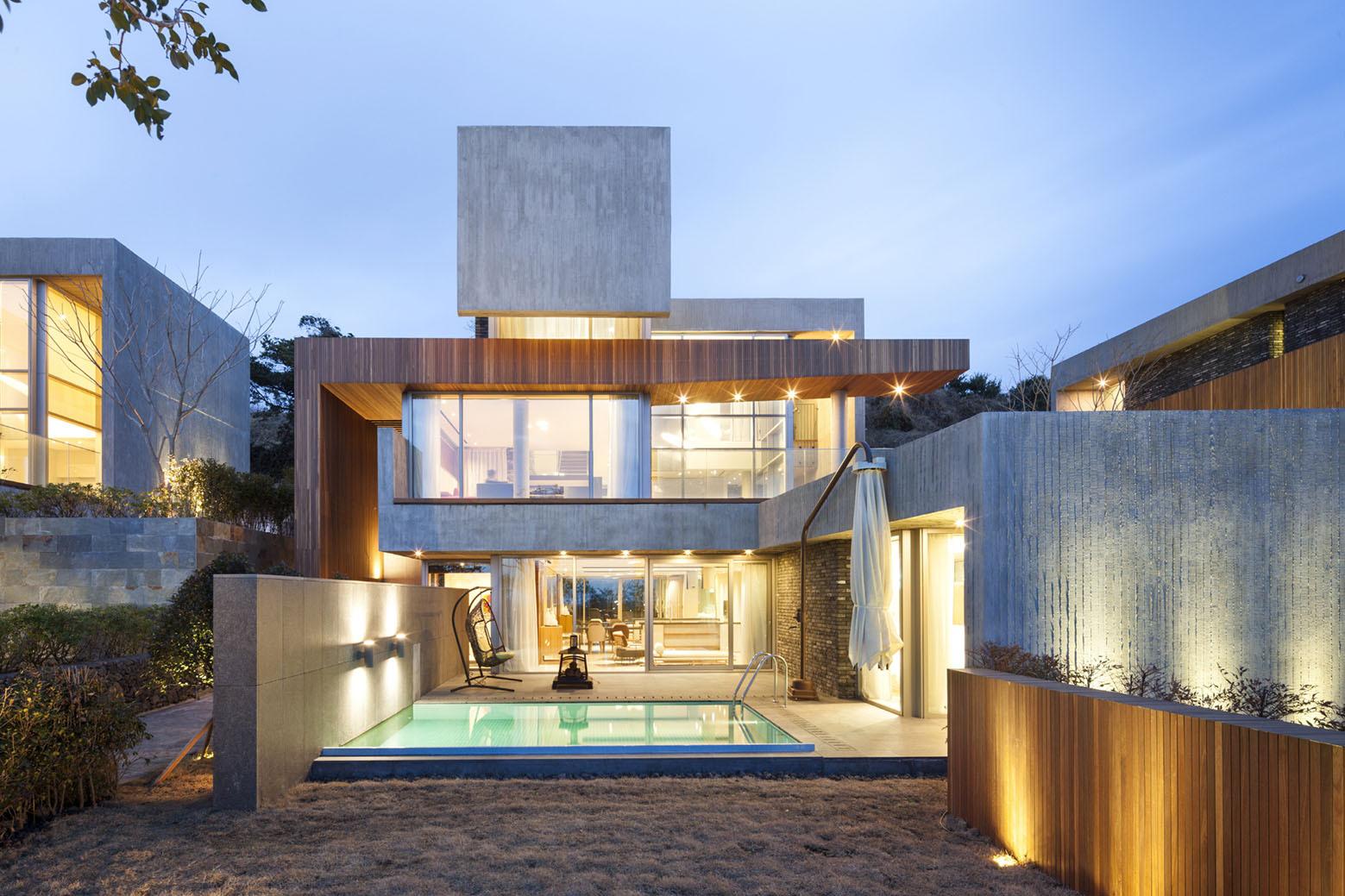 Jeju Bayhill Pool & Villa / Kim Dong-jin + L'eau Design (17)
