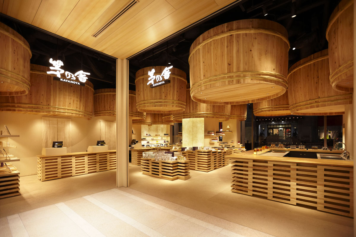 Kayanoya Shop / Kengo Kuma And Associates (1)