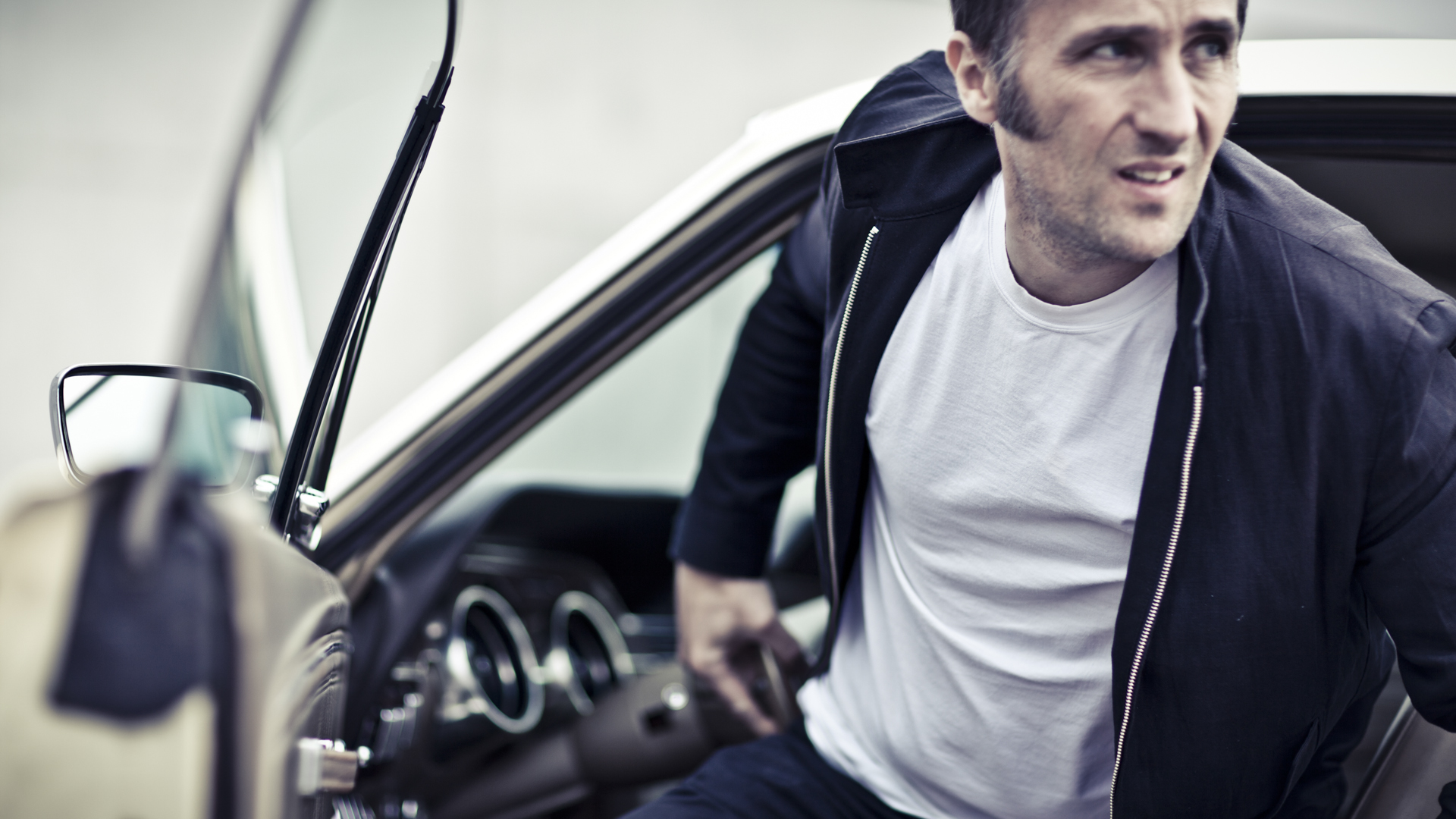 Pascal & his Ford Mustang / Laurent Nivalle (9)
