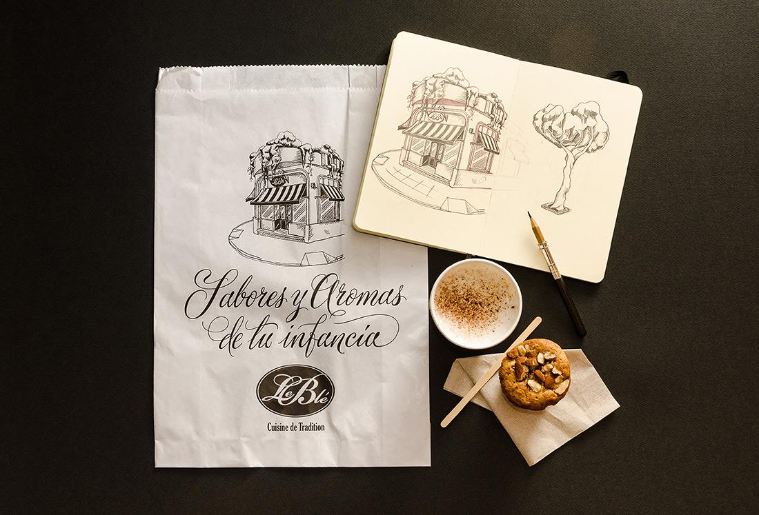 Le Blé - Packaging / Yani & Guille (7)