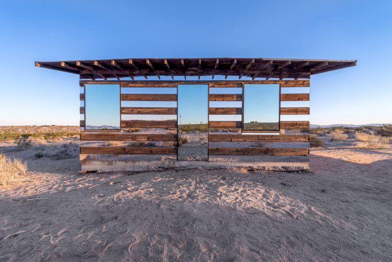 Lucid Stead In The Desert / Phillip K Smith III