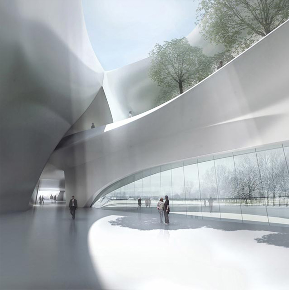 Harbin Museum / MAD Architects