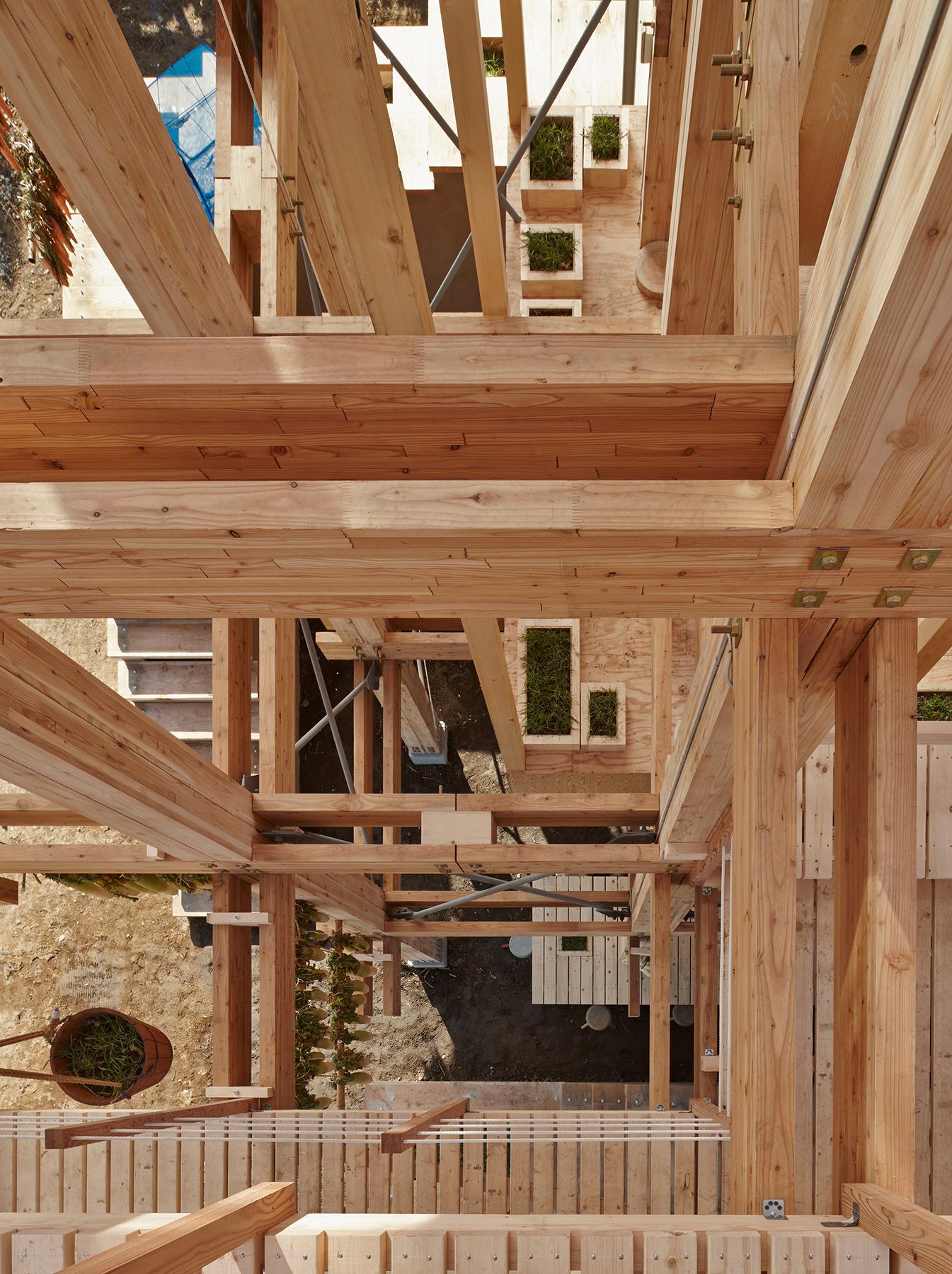 Nest We Grow / College of Environmental Design & Kengo Kuma & Associates (31)