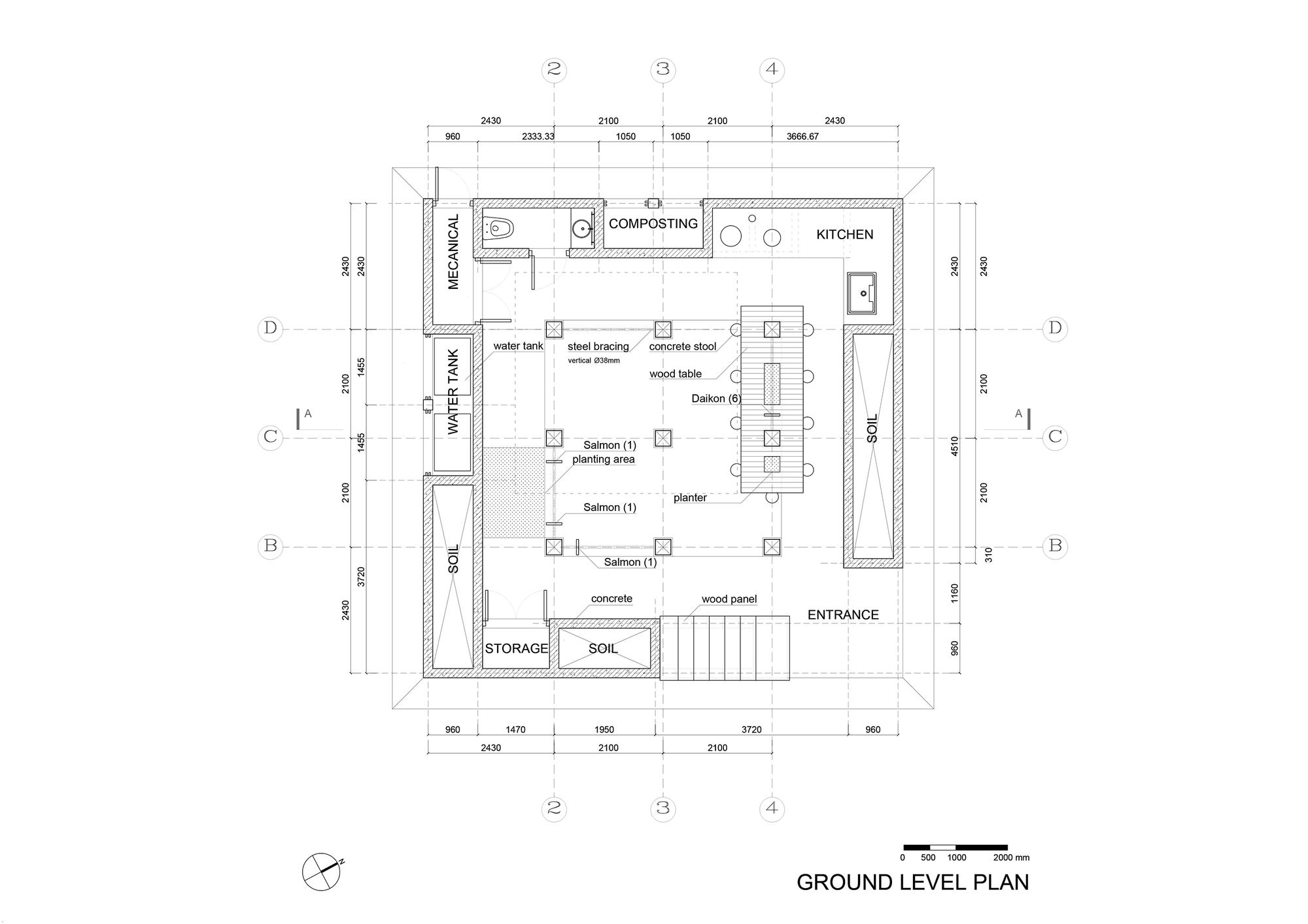 Nest We Grow / College of Environmental Design & Kengo Kuma & Associates (24)