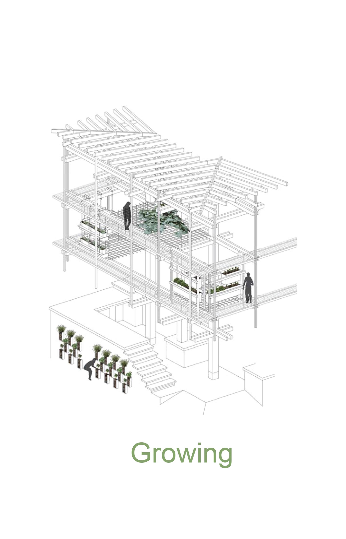 Nest We Grow / College of Environmental Design & Kengo Kuma & Associates (12)