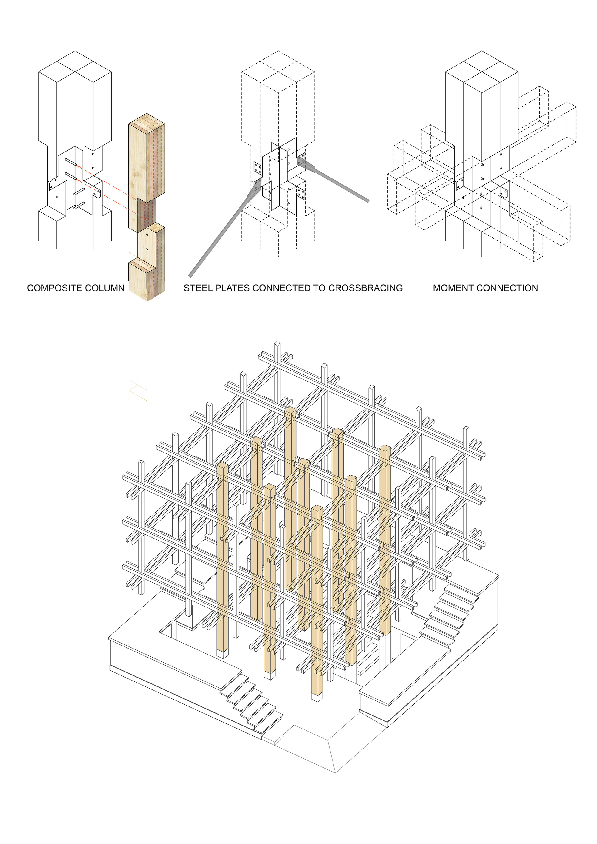 Nest We Grow / College of Environmental Design & Kengo Kuma & Associates (2)