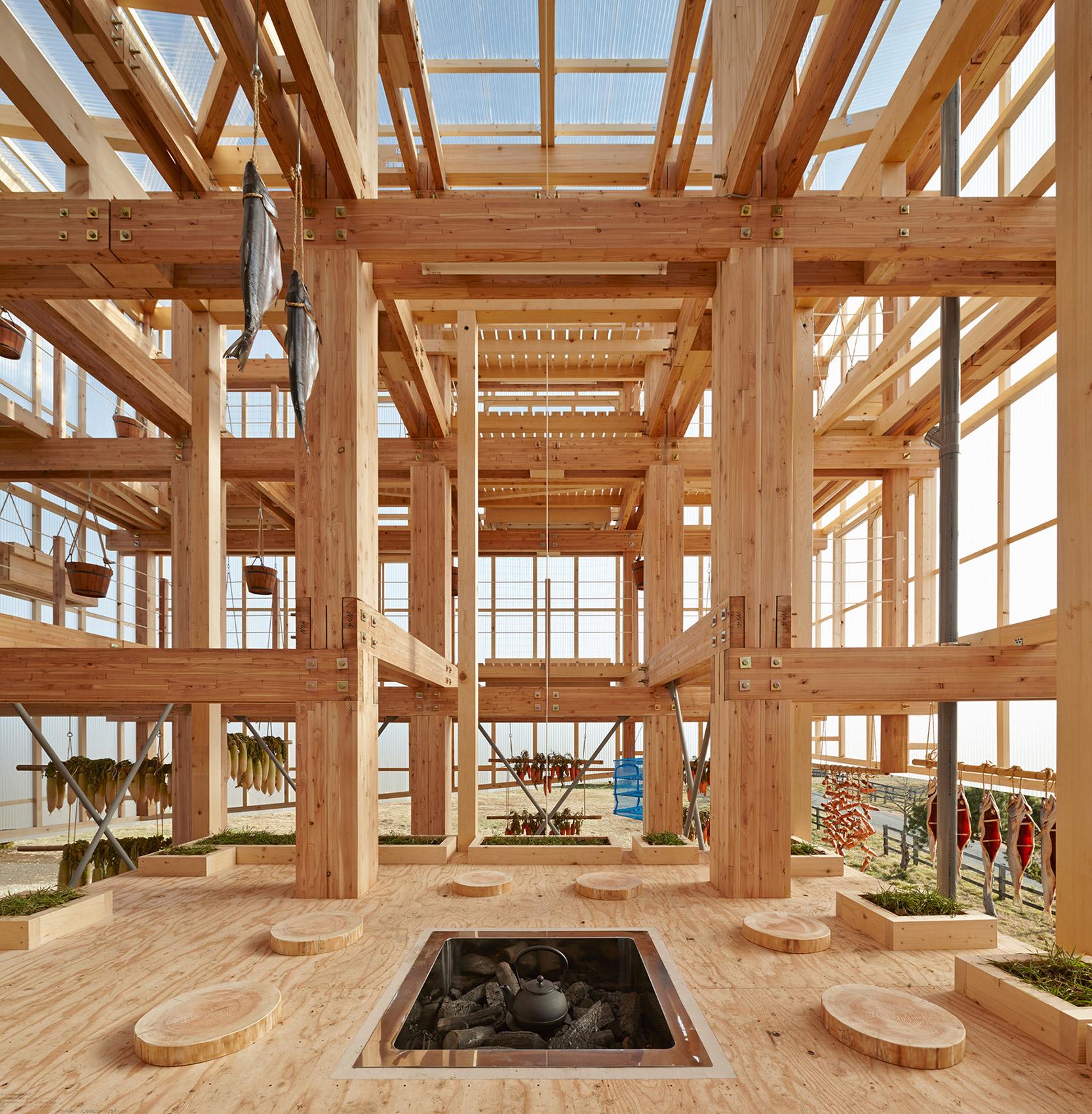 Nest We Grow / College of Environmental Design & Kengo Kuma & Associates (37)