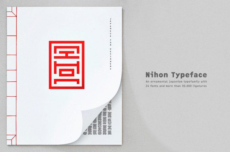 Nihon TypeFace / Malwin Béla Hürkey