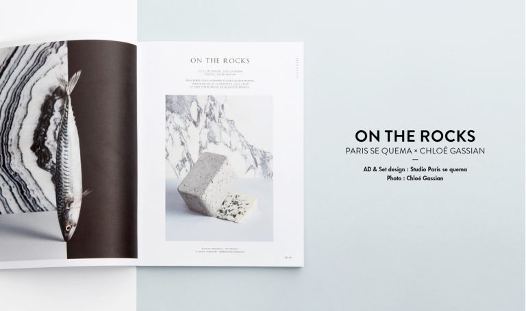 On The Rocks – Mint Magazine / Paris Se Quema & Chloé Gassian