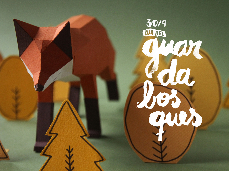 Papercraft Animals / Guardabosques (10)