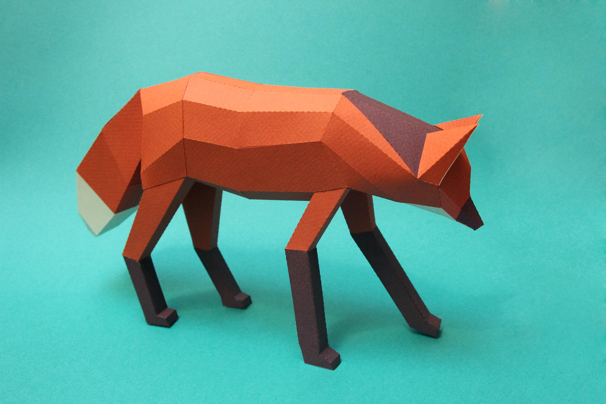 Papercraft Animals / Guardabosques (9)