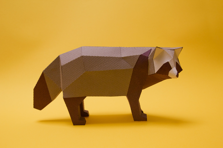 Papercraft Animals / Guardabosques (8)
