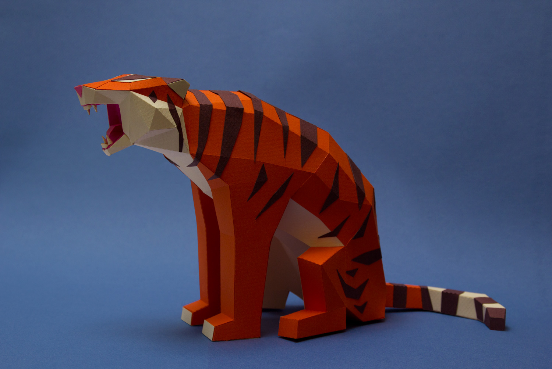 Papercraft Animals / Guardabosques (7)