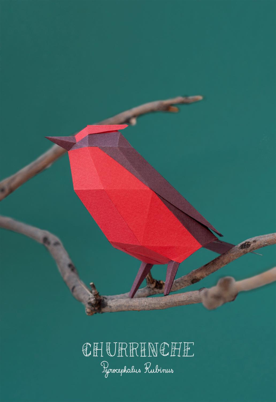 Papercraft Animals / Guardabosques (4)