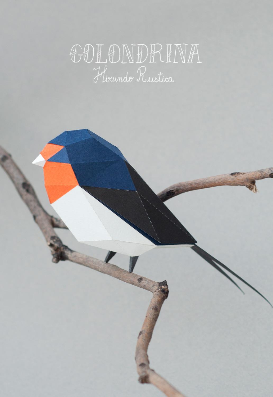 Papercraft Animals / Guardabosques (3)