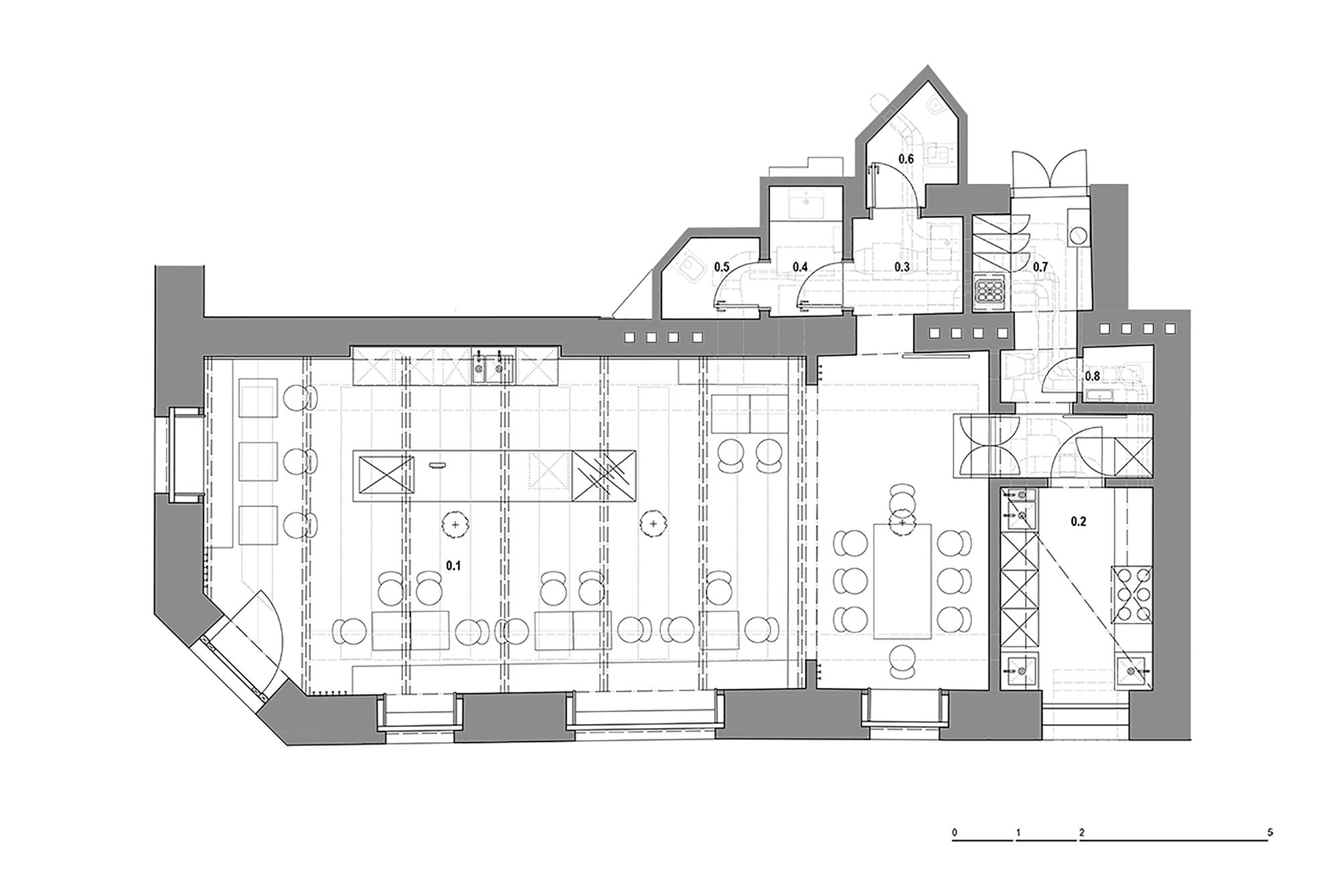 Proti Proudu Bistro / Mimosa architekti (4)
