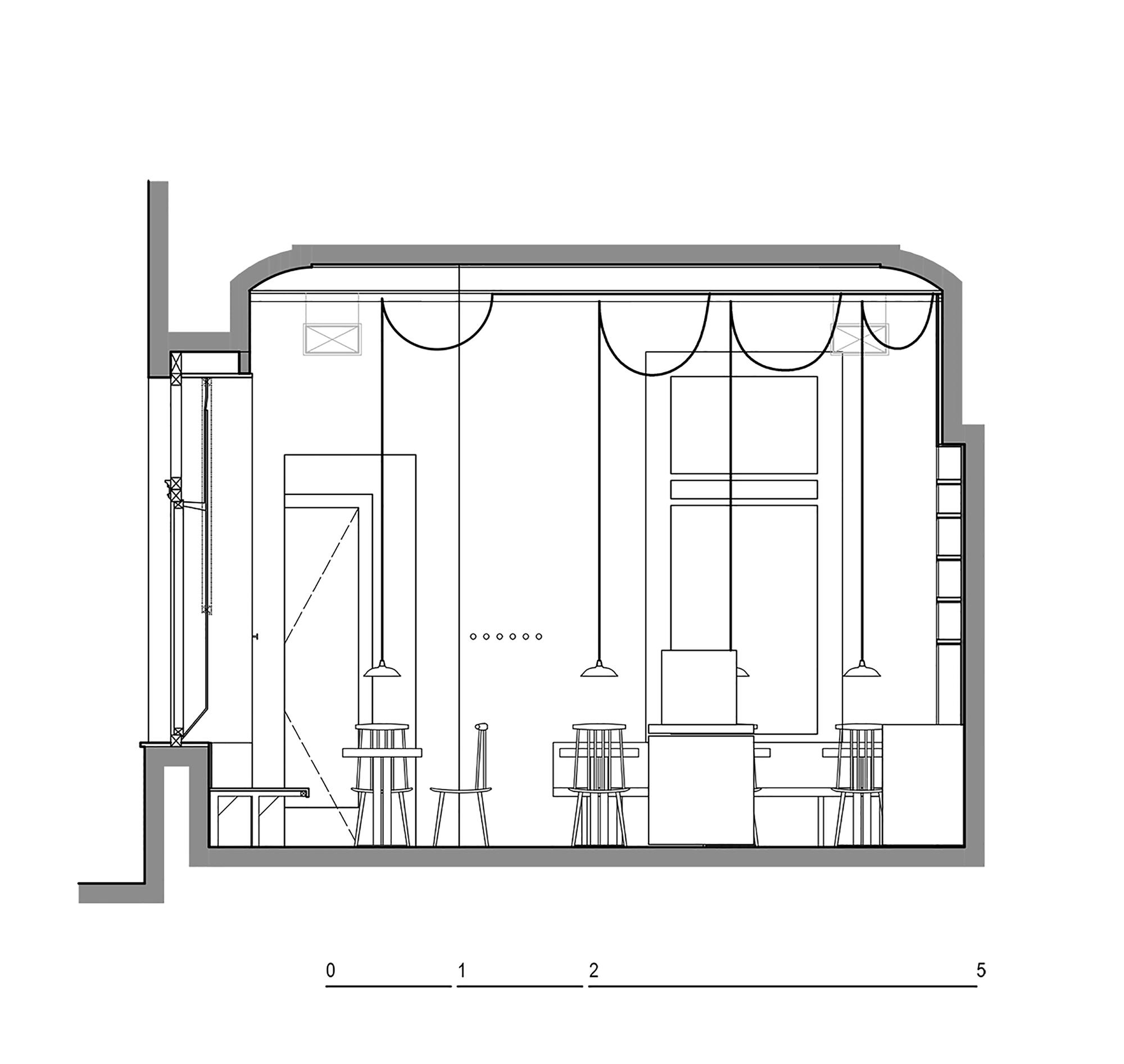 Proti Proudu Bistro / Mimosa architekti (1)