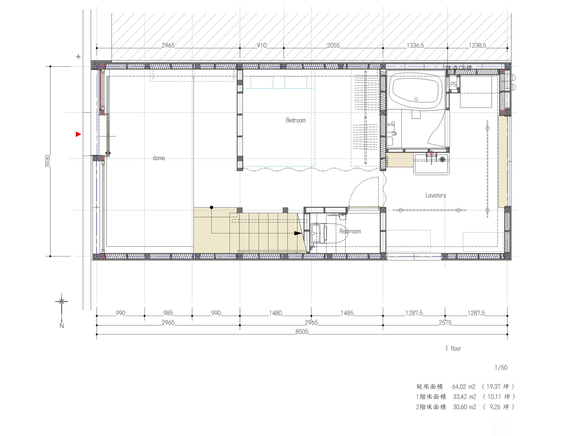 Re-Toyosaki / Coil Kazuteru Matumura Architects (6)