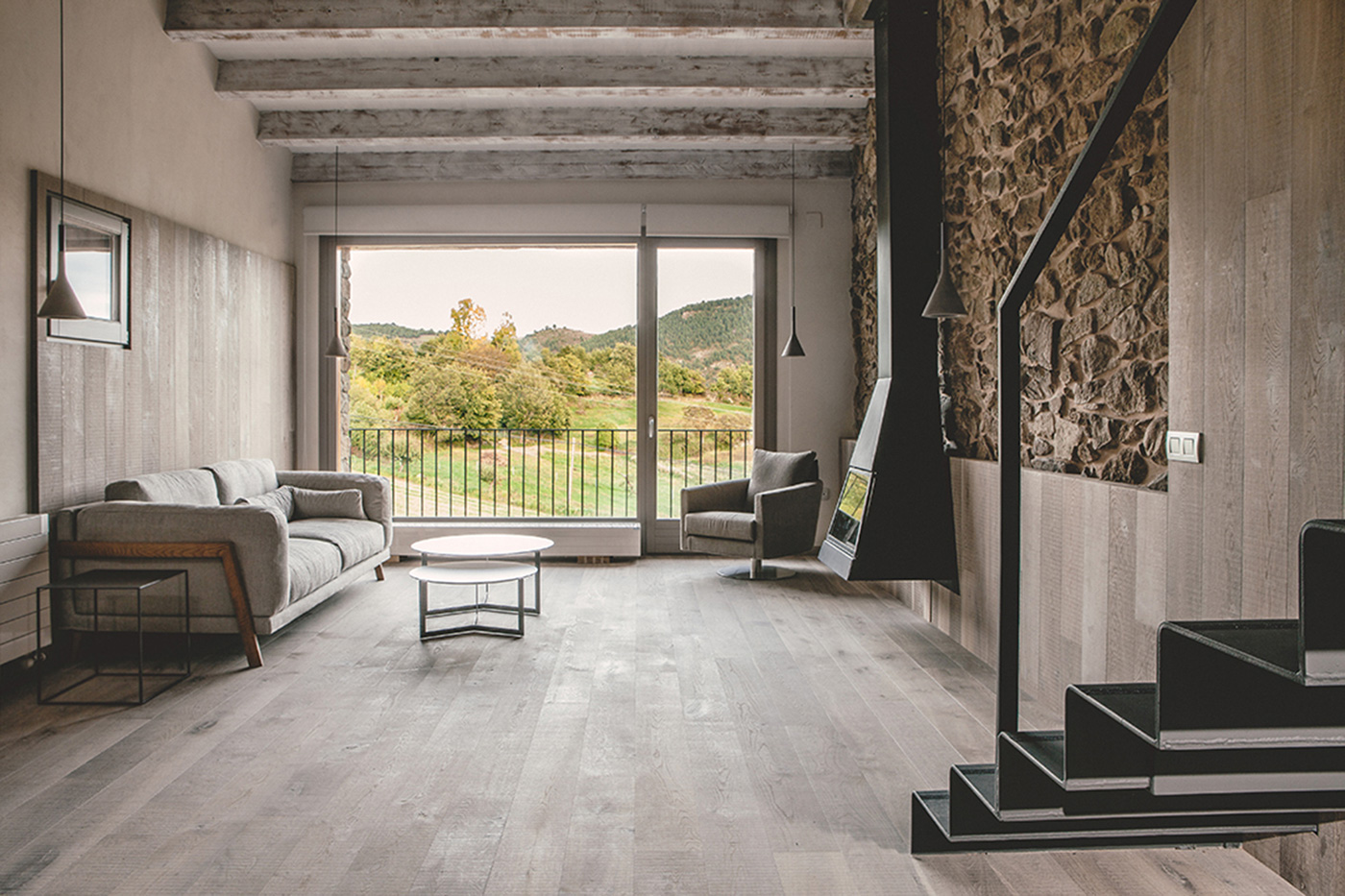 Réhabilitation d'une Maison en Cerdagne / Dom Arquitectura (4)