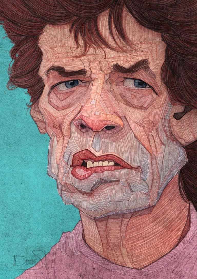 The  » Fabulous  » Rolling Stones Illustrated / Stavros Damos